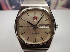 Rado Voyager Octagon geval Gents automatische Zwitserse horloge-circa 1970s  Gegarandeerd echt. Horloges worden wereldwijd verzonden uit het Verenigd Koninkrijk door een reeds lang gevestigde horloge verzamelaar en verkoper.Horloges zijn allemaal deel uit van mijn persoonlijke collectie en mei nog hebben tags/nooit gedragen ex-display vooraf hield of gerenoveerd._______________________________________________________________________________________Volledig ondertekend Rado Voyager--Swiss…