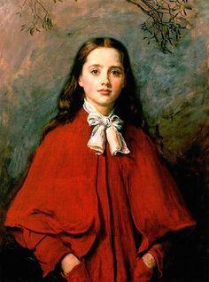 Bright Eyes John Everett Millais (1877) Aberdeen Art Gallery and Museums