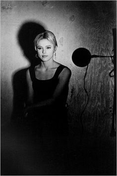 Edie Sedgwick, during her screen test at Andy Warhol's Silver Factory in 1965, by Billy Name (via NYT: In Search of an Archive of Warhol's Era)