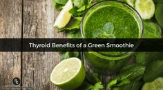 The Root Cause green smoothie is packed with nutrition for your thyroid, helps to reduce inflammation and can help with detoxification.