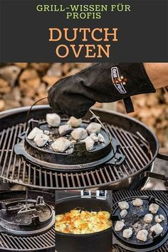 Outdoor cooking with the Dutch Oven is a great thing. - Outdoor cooking with the Dutch Oven is a great thing. Here you can find some Dutch Oven recipes as - Yummy Recipes, Bbq Pitmasters, Dutch Oven Recipes, Outdoor Cooking, Outdoor Oven, Food Preparation, Grilling Recipes, No Cook Meals, Cooking Tips