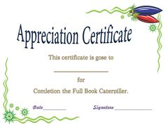Perfect attendance award certificate template award certificate award certificate template for completing the book thecheapjerseys Image collections