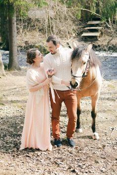 Необычная и нежная свадебная love-story ❤ ?