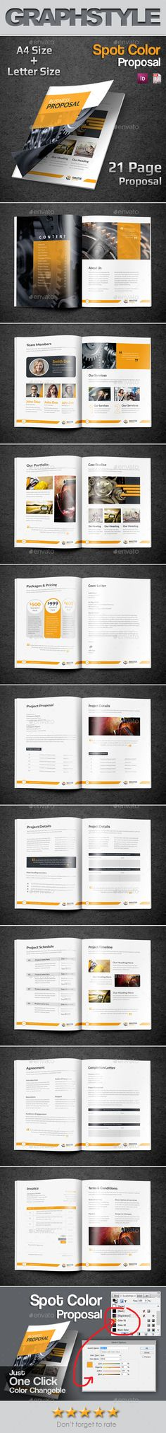 Proposal Template Proposal templates, Proposals and Business - download business proposal template