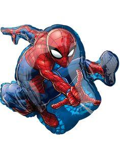 Palloncino grande in alluminio Spiderman™ su VegaooParty, negozio di articoli per feste. Scopri il maggior catalogo di addobbi e decorazioni per feste del web, sempre al miglior prezzo!