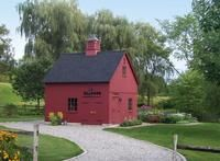 primitive homes daily crossword Lean To Shed Plans, Barns Sheds, Country Barns, Primitive Homes, New England Style, Potting Sheds, She Sheds, Garden Structures, Architecture
