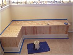 50 New Ideas Kitchen Corner Booth Diy Benches Corner Booth Kitchen Table, Booth Seating In Kitchen, Corner Bench Seating, Kitchen Booths, Kitchen Table Bench, Kitchen Banquette, Dining Room Bench, Booth Table, Banquette Seating