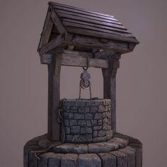 Medieval Well - PBR | 3D model