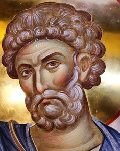 Byzantine Art, Byzantine Icons, Religious Icons, Religious Art, Orthodox Christianity, Orthodox Icons, Vignettes, Fresco, Saints