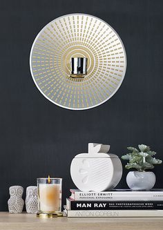 Santorini Sconce from the NEW Jonathan Adler collection exclusively for PartyLite! http://www.partylite.co.uk/products/jonathan-adler-overview.html #JonathanAdlerforPartyLite