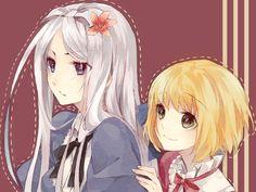 Belarus & Liechtenstein   Axis Powers: Hetalia I ship it it's too cute oh my gdsafd