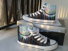 Dreamcatcher Sneakers High-top Painted Canvas Shoes,High-top Painted Canvas Shoes