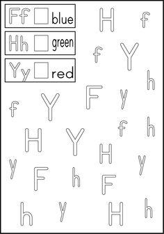 Worksheet Letter Recognition Worksheets For Kindergarten 1000 images about kindergarten abc letter recognition on alphabet worksheets