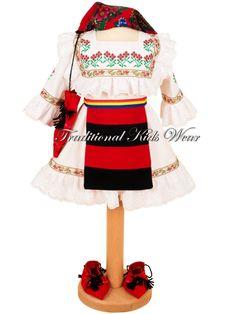 Romanian Traditional Baby Dress, Romanian Traditional Baptism Dress, Authentic Romanian Girl Costume, Romanian Traditional Christening Wear Stitch Baby Costume, Romanian Girls, Christening, Baby Baptism, Baptism Dress, Baby Dress, Dress Girl, Baby Costumes, Traditional Art