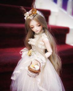 從不知名的故事裡跑出來的小精靈 #balljointdoll #bjd #dolly #dollstagram #doll #daydream #人形 #ドール