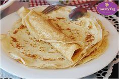 WW Light Pancakes - Dish and Recipe - WW light pancakes, tasty light pancakes without butter at only 2 sp per pancake, very easy to make - Best Lemon Meringue Pie, Lemon Curd Filling, Czech Recipes, Ww Recipes, Ethnic Recipes, German Recipes, Crepes Ww, Katsu Curry Recipes, German Pancakes Recipe