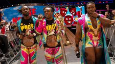Kofi Kingston, Xavier Woods & Big E were in the middle of their record-setting reign when their titles were made exclusive to Raw in Xavier Woods, Champion, Wwe News, Wwe Superstars, Kingston, New Day, Photo Galleries, Wrestling, Reign