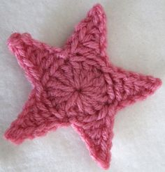 Free Crochet Star Pattern