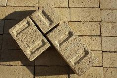 Hempcrete, alternative building material from sustainable source - cannabis sativa plant.  Image: Archinect.