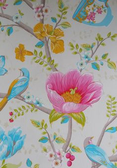 Pip Studio III behang Chinese Garden White 341000 bij Behangwebshop