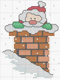 Graficos punto de cruz navidad