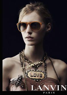 Lanvin Eyewear Winter 2013/14 Campaign