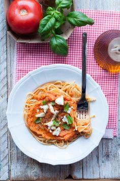 Sos z pieczonych pomidorów przepis