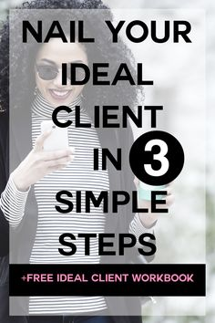 Nail Your Ideal Client (in just 3 simple steps) + FREE workbook — Kelita Kellman Branding Your Business, Business Advice, Online Business, Business Cards, Online Entrepreneur, Business Entrepreneur, Entrepreneur Ideas, Brand Book, Business Education