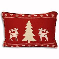 Wonderland Cushion 35x50cm, Red