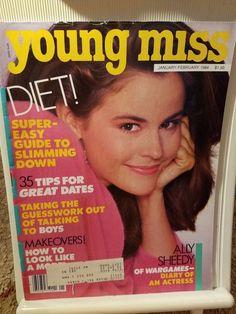 January/February 1984 cover with Ally Sheedy