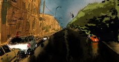 Painting the Gentrification of Prospect Heights   The New Yorker