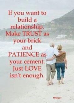 Trust is earned don't give it away! Wisdom after dating a narcissistic.
