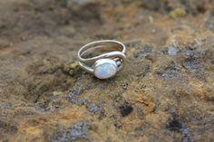 Prairie Pearl #sterlingsilver #opal