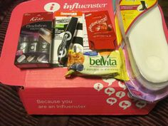 All the products that I received in my Rose VoxBox