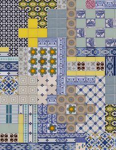 Mosaic tiles byDear Human.