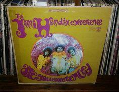 Jimi Hendrix Are You Experienced Vintage Vinyl Record