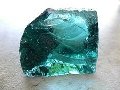 Higher Heart Andara volcanic glass crystal A by TheLeopardsLair, $29.95