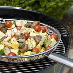 Balsamic Grilled Veggies recipe < Good for You Grilling Supper Menu - Southern Living