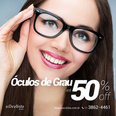 Queima de Estoque, estamos com até 50% de edsconto nos óculos de grau  Compre pelo site em até 10x Sem Juros e Frete Grátis nas compras acima de R$400,00 reais.  www.aoculista.com.br/oculos-de-grau  #aoculista #oculosdegrau #glasses #sunglasses #eyeglasses #oculos