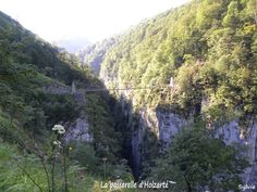 La passerelle d'Holzarté / Pays Basque / Pyrénées
