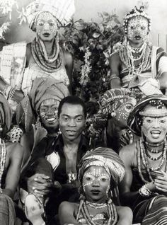 Feli Kuti- Nigerian singer who was a key figure in the development of Afro-beat, blending agit-prop lyrics and dance rhythms as a medium for social protest.