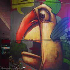 "Bratislava, Emphasis on the ""Lava"" - The Wondernuts Bratislava Slovakia, Graffiti, Street Art, Painting, Painting Art, Paintings, Painted Canvas, Graffiti Artwork, Drawings"