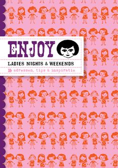 Such a lovely small book: Enjoy Ladies Nights & Weekends. #LIVWOW #Ladiesnights