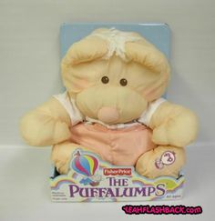 loved these, I still have a puffalumps ornament on my parents tree :)