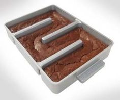 There's nothing like the sweet and savory taste of eating the corner piece every time mom makes her famous brownies. With only four pieces available in every batch, siblings battling over these delicacies are inevitable, unless you're using the endless edges brownie pan. This brownie pan is distinctive form the rest with its unusual shape…
