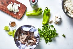 Quick-cooking shrimp get a flavor boost from cilantro, beer, and lots of fresh lime.