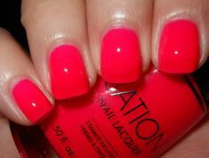 I have a colour just like this by FACE Stockholm. I can't wait to wear it, it's so summery. The colour reminds me of a delicious ripe watermelon!