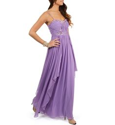 Pammeli- Rust Amethyst Prom Dress