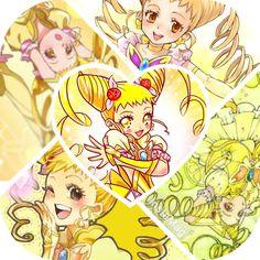 Yes PrettyCure 5 pretty cure Kasugano Urara Cure lemonade Cosplay shoes boots
