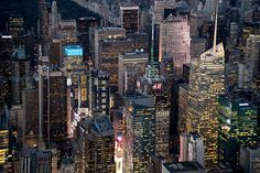 Manhattan's Midtown in New York City, USA